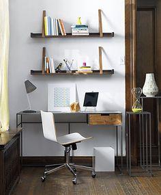 Escritorios peque os en pinterest escritorios espacio - Escritorios para espacios pequenos ...