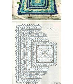 堆糖-美好生活研究所 Crochet Granny, Outdoor Blanket, Personalized Items, Cards, Granny Squares, Tejidos, Crochet Pattern, Maps, Playing Cards