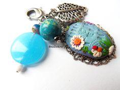 Brelok Today is a New Day w BezCukru - biżuteria z charakterem na DaWanda.com
