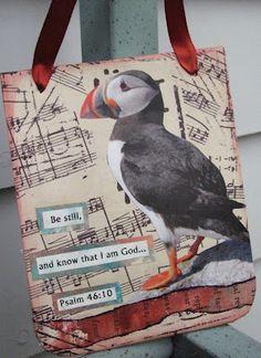 The Atlantic Puffin Bird Bird Crafts, Paper Crafts, Puffins Bird, Walk By Faith, Little Birds, Bird Art, Beautiful Birds, Design Crafts, Fiber Art