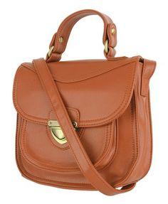 F21 Med Top-Handle Bag
