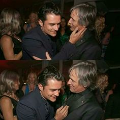 69th Cannes Film Festival - Orlando Bloom and Viggo Mortensen