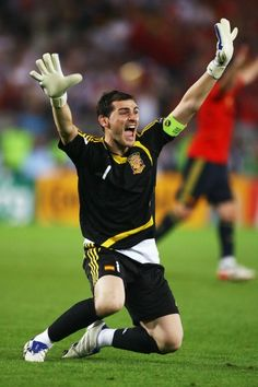 """We are going to play an important game and the moment of truth has arrived. Everyone knows just what is at stake and nobody should doubt that we are going o give it everything,""        Iker Casillas"