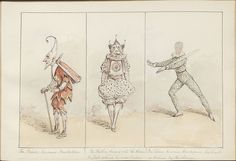 Pantomime as it was is and will be by Alfred Crowquill (1849) (The Prince becomes Pantaloon...) by peacay, via Flickr