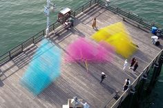 Runaway – A Temporary Splash of Color for the Santa Barbara Waterfront