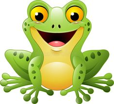 Illustration about Illustration of Cartoon cute frog. Illustration of tropical, animal, leapfrog - 78541900 Frosch Illustration, Frog Drawing, Frog Pictures, Frog Crafts, Cute Frogs, Frog And Toad, Cartoon Drawings, Cartoon Characters, Painted Rocks