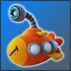PDF Amigurumi Crochet Pattern  Nautilus The by DeliciousCrochet, $4.20