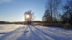 Vinter i Upplands Bro