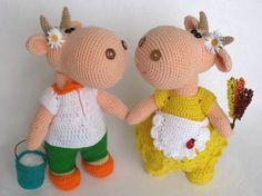 Кукляндия: Коровка Ладушка и бычок Белояр