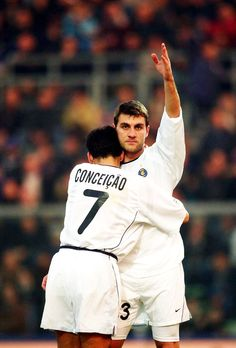 Christian Vieri & Sergio Conceicao - Inter Milan