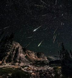 Meteor Shower WY