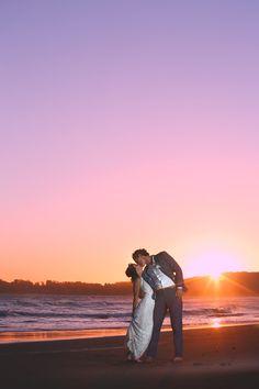Anton and Rachels wedding in Stinson Beach California