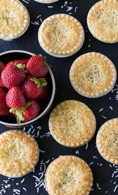 These Strawberry Coconut Tarts are sweet and super simple to make. This old-fashioned recipe has stood the test of time for good reasons.