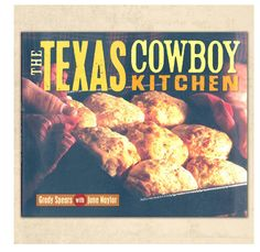 This is a Goode Texas cookbook.  Cowboy-turned-chef Grady Spears reinvents chuckwagon dishes from Barbecued Quail Tamales to Pork Tenderloin with Watermelon Salsa.