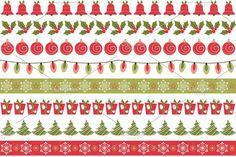 Christmas Borders. Christmas Patterns. $5.00