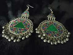 Beautiful Vintage Unique Design Kuchi Afghan Traditional Ethnic Dangling Bell…