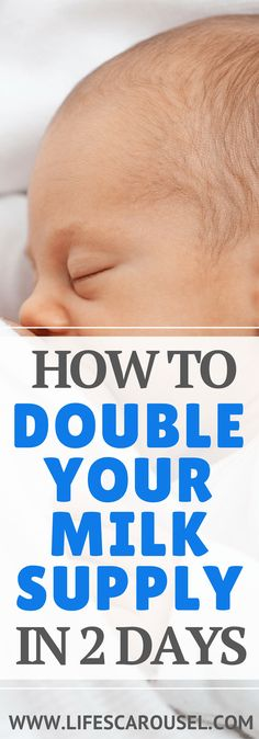 Increase Your Breastfeeding Milk Supply | Tips to DOUBLE your milk supply FAST! | How I doubled my milk supply in just 2 days! No more hungry baby! Breastfeeding tips to help you produce more milk.