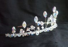 Sugar Plum Princess Crystal Bridal Tiara by clairesclassicjewels