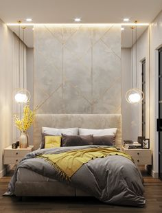 Stunning Luxury Bedroom Design Ideas Make You Feel Relax - A number of interior designers have had successes from previous designs that capture the plain white room into something that can distract an owner de. Modern Luxury Bedroom, Luxury Bedroom Design, Home Room Design, Bedroom Furniture Design, Master Bedroom Design, Contemporary Bedroom, Luxurious Bedrooms, Home Decor Bedroom, Modern Interior Design