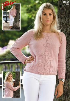 "Women's sweater ""Tulip""."