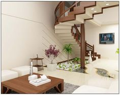 Living Room of best architects in cochin design