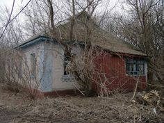 Abandoned house near Chernobyl
