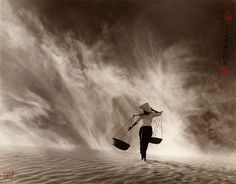 Don Hong-Oai | Wind and Sand Storm, Vietnam | 1972
