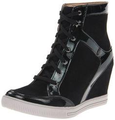 Skechers Women's Chatter Box Gossipy Fashion Sneaker,Black,8.5 M US