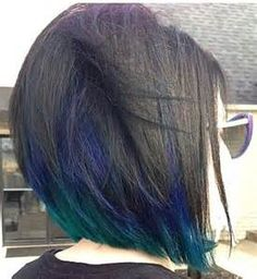 peacock hair color - Yahoo Image Search Results