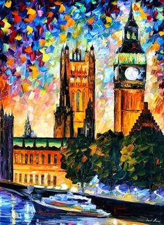 Big Ben & Parliament - Leonid Afremov