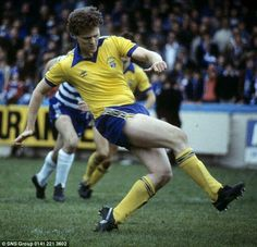 Andy Ritchie - 129 goals in 247 games for Greenock Morton.