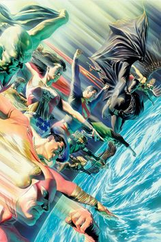 Earth's Heroes - Alex Ross