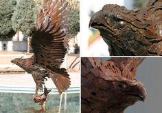 Esculturas fantásticas feitas com ferro (2)