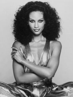 Beverly Johnson's look over the years has always been a true reflection of her persona: striking, polished, and, always, utterly elegant. She was on the first black model on the cover of American Vogue.