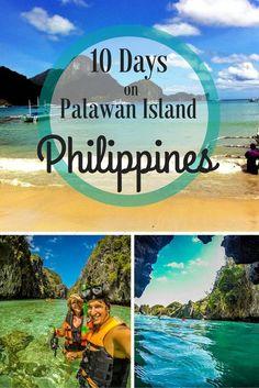 Things to do in Palawan, Philippines from Puerto Princesa to El Nido Voyage Philippines, Philippines Vacation, Les Philippines, Philippines Travel Guide, Philippines Palawan, Puerto Princesa, Palawan Island, El Nido Palawan, Fiji Islands