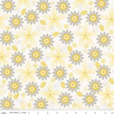 My Minds Eye - Willow - Floral in Yellow