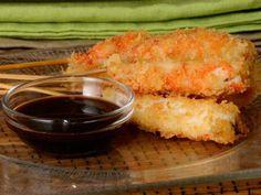 Receta Japonesa Gambones Teriyaki, recetas orientales.. la pruebo , no la pruebo? .. Te ayudo a decidirte ...  El Panko es el pan rallado de los japoneses, lo que hace de este bocadito un tentempié con un recubierto crugiente, una tentación... y la salsa? Es dulce, no se hace pesada  ni empalagosa, por lo que puedes hecharle cantidad al gusto.