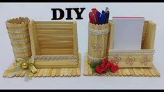 ¡¡¡INCREIBLE!!! 5 manualidades con palitos de helados para el dia de la madre♥ / Dani ochoa - YouTube Craft Stick Projects, Craft Stick Crafts, Fun Crafts, Paper Crafts, Diy Projects, Popsicle Stick Crafts For Adults, Popsicle Stick Diy, Popsicle Crafts, Diy Crafts For Girls