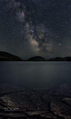 Eagle Lake - A view of Eagle Lake from Acadia National Park.