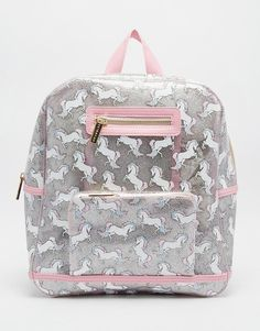 Image 1 of Skinnydip Unicorn Backpack