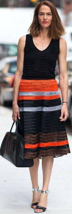 striped street style | LBV ♥✤