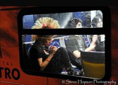 Mohawk on a bus Cool Photos, Branding, Transportation, Student, Cap, Baseball Hat, Brand Management, Identity Branding