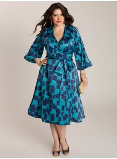 Could I get this in time for a wedding in two weeks? That is the question... Carmelle Wrap Dress