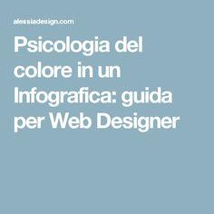 Psicologia del colore in un Infografica: guida per Web Designer