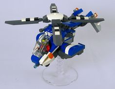 LEGO Future City: Copter by rongYIREN on Flickr