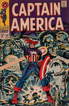 Captain America 107 - Stan Lee and Jack Kirby