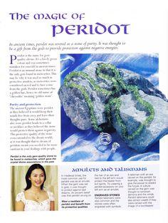 The magic of Peridot