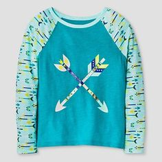 Girls' T-shirt Cat & Jack™ - Aqua Freeze