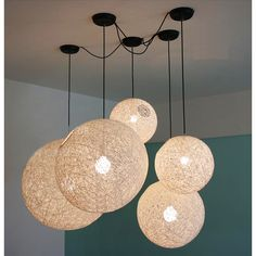 Dia 15cm 20cm 25cm 30cm 35cm 40cm Rattan Ball Pendant Lights Colorful Modern Pendant Lamp Handmade Ceiling Fixtures-in Pendant Lights from Lights & Lighting on Aliexpress.com | Alibaba Group