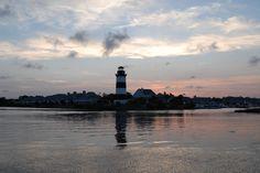 Governor's Point Lighthouse - North Myrtle Beach, South Carolina - 1985